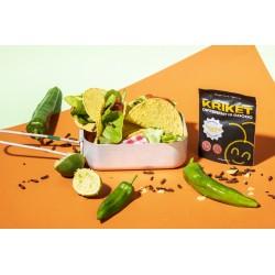 """KRIKET Crunchy krekels """"Tempting Taco"""" 25x15g"""
