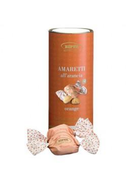 Cilinder Amaretti koekjes met Sinaas 12x100gr