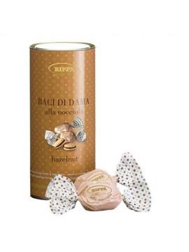 Cilinder Baci di Dama koekjes met hazelnoot 12x100gr