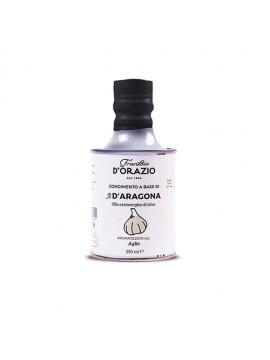 Olijfolie extra vergine all'Aglio 12x250ml