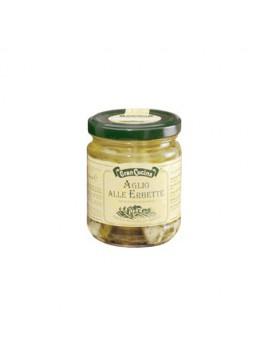 Lookteentjes en kruiden opgelegd in olijfolie 6x180gr
