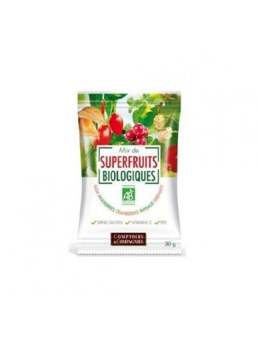 BIO GLUTENVRIJE Snack superfruits 12x30gr