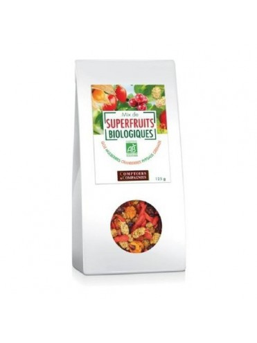 BIO Superfruit Mix 12x125gr
