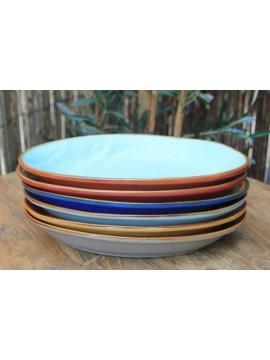 Ovalenschaaltje (6stuks verschillende kleuren).