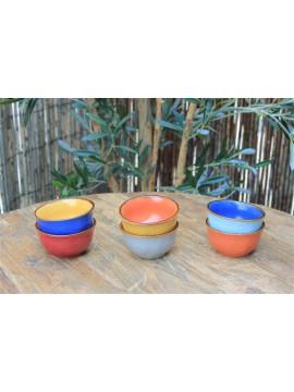 Minikommetje (6 stuks verschillende kleuren)