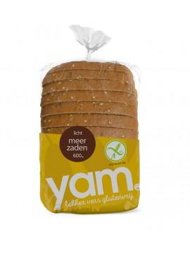 YAM glutenvrij licht meerzaden brood