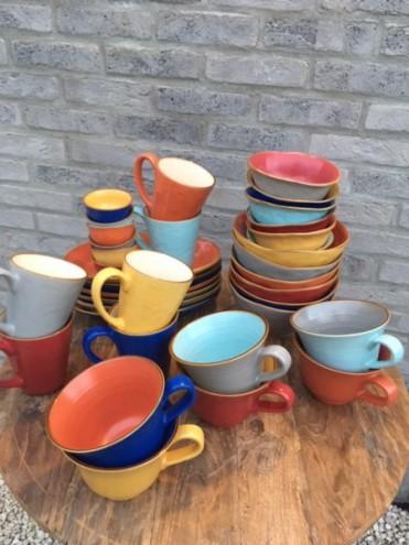 Assortiment 6 producten keramiek