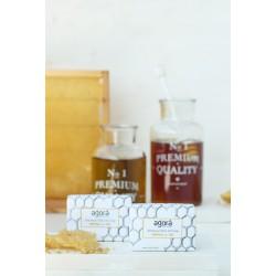 Botanical olive oil soap propolis & honey  - per stuk