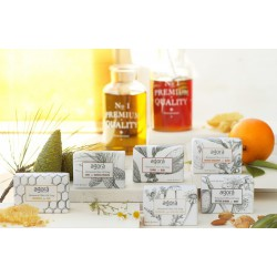 Botanical olive oil soaps 24 stuks - mix 6 soorten