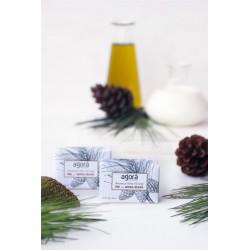Botanical olive soap pine & balsam - per stuk
