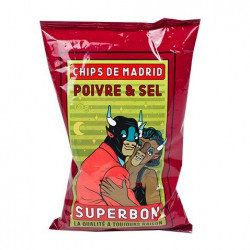 SuperBon Chips de Madrid Peper & Zout (14x135gr)