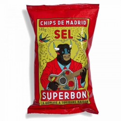 SuperBon Chips de Madrid Zout (14x145gr)