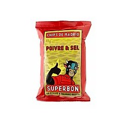 SuperBon Chips de Madrid Peper & zout (32x45gr)